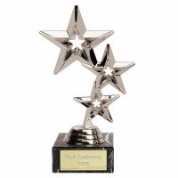 TripleStar8 Silver Trophy (FQ355Q) Silver 8 Inch