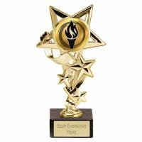 StarCascade5 Gold Trophy Gold 5.75 Inch