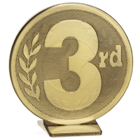 Global 3rd Place Bronze 60mm