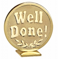 Global Well Done Gold 60mm