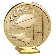 Global Rugby Gold 60mm