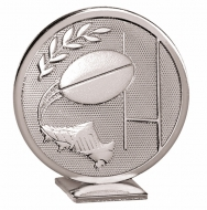 Global Rugby Silver 60mm