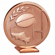 Global Rugby Bronze 60mm