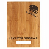 Bamboo Cutting Board 13 7 8 x 9.75 Inch (34.5 x 24.5cm) : New 2019