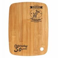 Bamboo Cutting Board 11.75 x 8 7 8 Inch (30 x 22.5cm) : New 2019