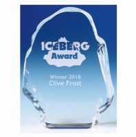 Iceberg3 Glass Optical Crystal 3.5 Inch