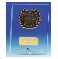 Crest5 Jade Plaque Jade/Gold 5 Inch
