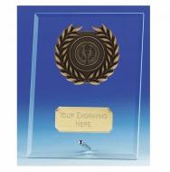 Crest6 Jade Plaque Jade/Gold 6 Inch