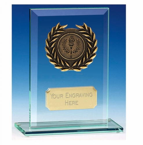 Apex4 Jade Award Jade/Gold 4 Inch
