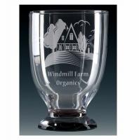 Windmill Glass Chalice