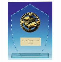 Varsity Boxing Glass Award Trophy 7 1/8 Inch (18cm) : New 2020