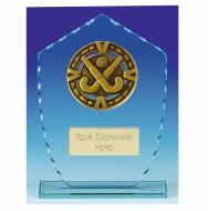 Varsity Hockey Glass Award Trophy 7 1/8 Inch (18cm) : New 2020