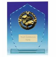 Varsity Boxing Glass Award Trophy 7 7/8 Inch (20cm) : New 2020