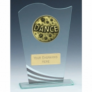Richmond Dance Glass Award 6.5 Inch (16.5cm) : New 2020