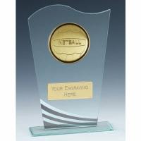 Richmond Netball Glass Award 7.25 Inch (18.5cm) : New 2020