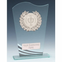 Pennant Glass Award 7.25 Inch (18.5cm) : New 2020