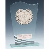 Pennant Glass Award 7.25 Inch (18.5cm) : New 2020