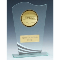 Richmond Netball Glass Award 8 1/8 Inch (20.5cm) : New 2020