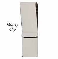Money Clip Silver 68 x 19mm