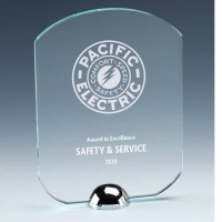 Gravity Standard Jade Glass Award 6.25 Inch (16cm) : New 2020