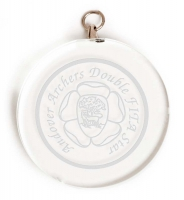 Circular Glass Award Medal 2 Inch (5cm) Diameter : New 2020