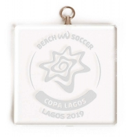 Square Glass Award Medal 2 Inch (5cm) : New 2020