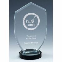 Stage Apex Jade Glass Award 8 Inch (20cm) : New 2020