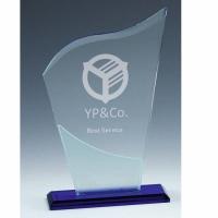 Herald Glass Award 7.25 Inch (18.5cm) : New 2020