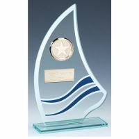 Sail Glass Award 6.5 Inch (16.5cm) : New 2020