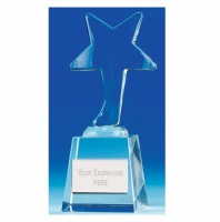 IceStar5 Crystal Award Optical Crystal 5.5 Inch