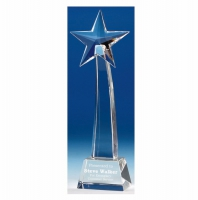 Recognition8 Star Optical Crystal 8.5 Inch