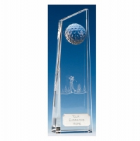 Kenmore9 Golf Optical Crystal 8.75 Inch