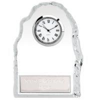 Iceberg4 Clock Optical Crystal 4.5 Inch