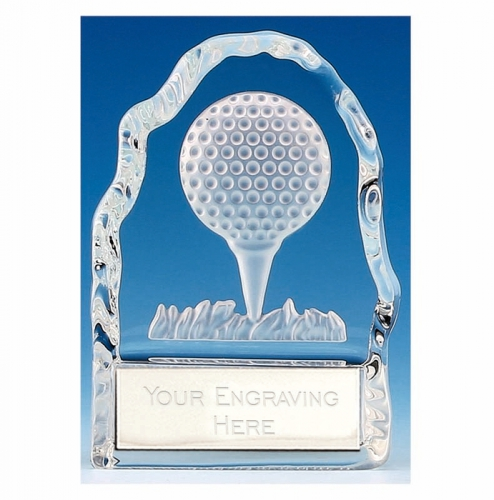 Echo4 Golf Ball Wedge Optical Crystal 4.25 Inch