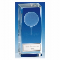 Clarity4 Crystal Golf Block Optical Crystal 4.5 Inch