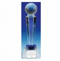 Stewart Golf Optical Crystal Optical/Blue 9 7/8 Inch