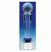 Stewart Golf Optical Crystal Optical/Blue 11 5/8 Inch