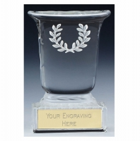 Premier Cast Glass Cup - Clear - 5.25 inch (13.5cm) - New 2018