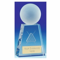 Sherwood Crystal Snooker/Pool - Clear - 5 7/8 Inch (15cm) - New 2018