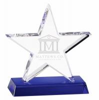 Premium Star Crystal - Clear/Blue - 6.75 (17cm) - New 2018