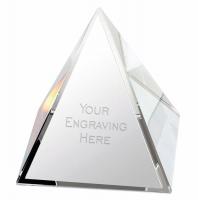 Pyramid Crystal 2.75 Inch (7cm) : New 2019