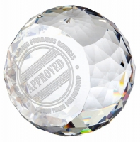 Impact Crystal - Clear - 2.75 (7cm) - New 2018