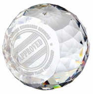 Impact Crystal - Clear - 3.25 (8cm) - New 2018