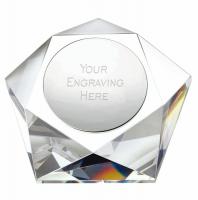 Pentagon Crystal 4 Inch (10cm) : New 2019