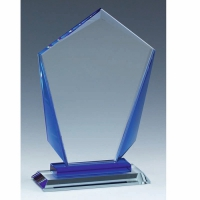 London Football Trophy Crystal Crystal 3 7/8 Inch