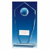 Foundation Peak Golf Glass Clear 7 Inch