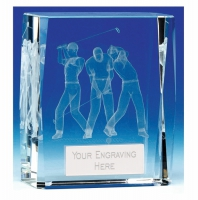 Mega Trio Golf Crystal 4.5 Inch (11.5cm) : New 2019