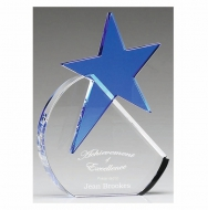 Aquamarine Star8 Optical/Blue 8 Inch