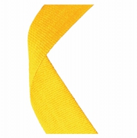 Medal Ribbon Yellow Yellow 7/8 x 32 Inch