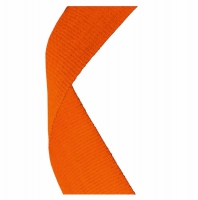 Medal Ribbon Orange Orange 7/8 x 32 Inch